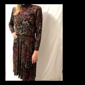 Vintage Jessica Howard Petite Floral Dress